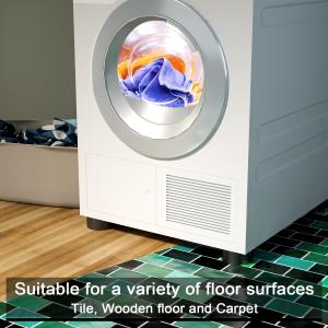Hosom Anti Vibration Pads, Washing Machine Pads for Reducing Noise, Perfect Fit for Whirlpool, LG, Samsung Washer, 4 Pack